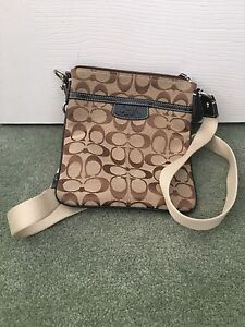 Small Coach Travel Bag