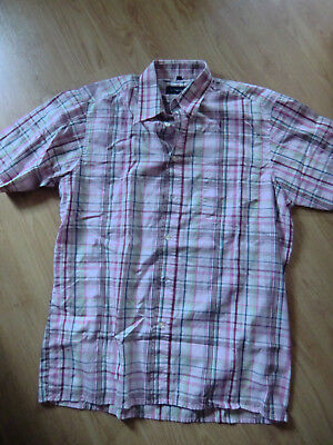 Sommerbluse bunte Bluse kariert  Damenbluse Mottoparty toll f. Cowboy Gr.M 39/40