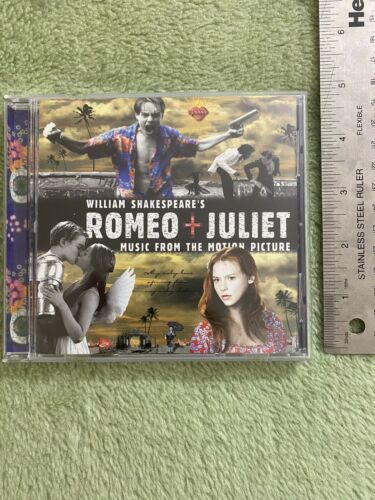 Various Artists Romeo Juliet Movie Soundtrack Disc CD 1996 Vintage - $4.99