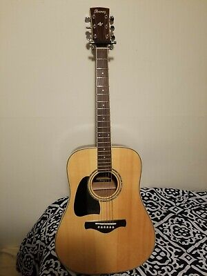 Left Handed Ibanez Artwood Acoustic