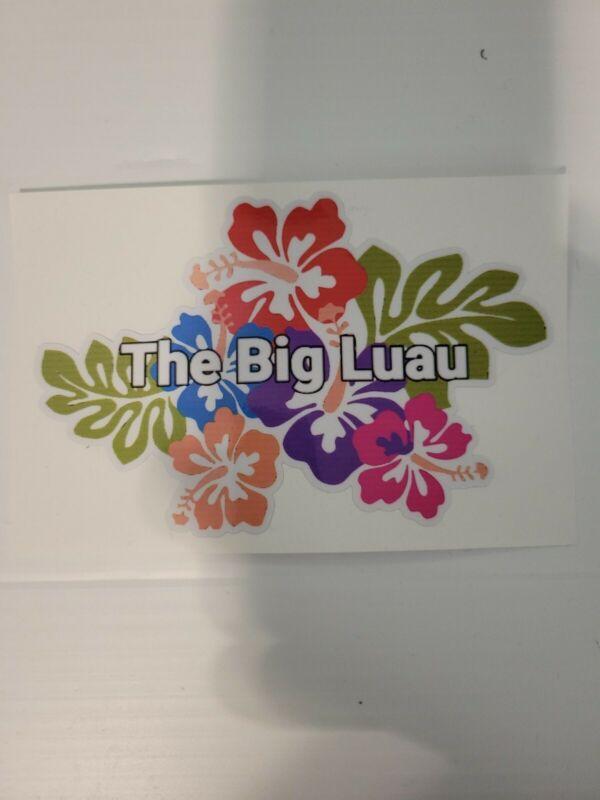 Big Luau Sticker