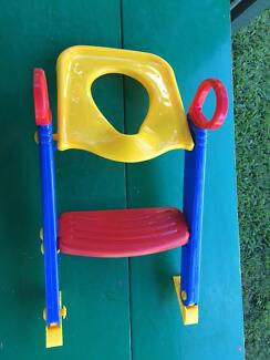 Kids Toilet Training seat and ladder