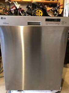 LG Stainless Steel Dishwasher. *like new*