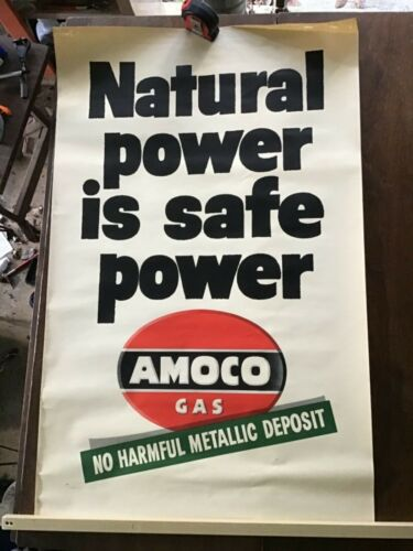 Old Amoco Poster Natural Power Is Real Power Poster 3
