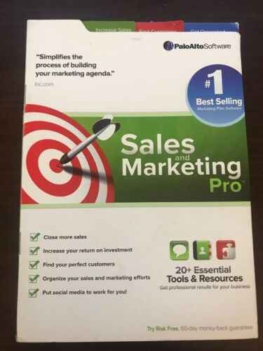 Palo Alto Software Sales and Marketing Pro Software