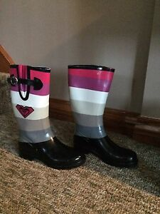 Roxy rubber boots