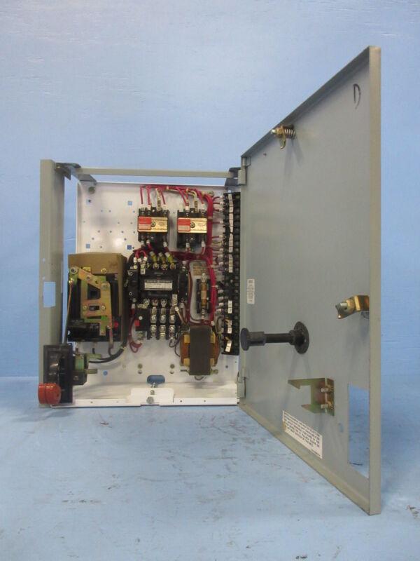 "General Electric GE 8000 Size 1 Starter 15 Amp Breaker Type 18"" MCC Bucket 15A"