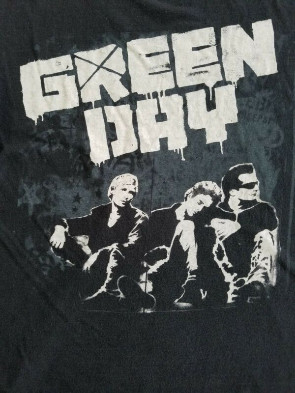 Green Day Tour Shirt 2009 Small