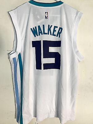 Adidas NBA Jersey Charlotte Hornets Kemba Walker White sz XL