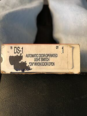 Bwf Ds-1 Automatic Door Operated Light Switch On When Door Open. New In Box