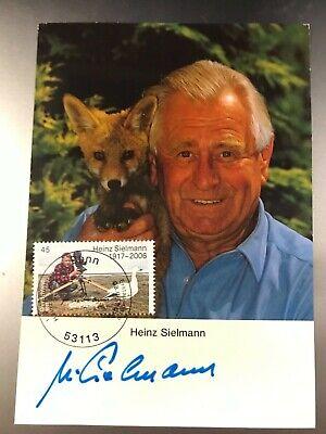 Autogramm Heinz Sielmann (2006+) Tierfilmer Mi Bund 3318 Ersttag gestempelt 193#