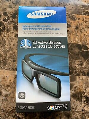 Samsung 3D Glasses SSG-3050GB Lunettes Actives Movies Smart TV New Factory Seal