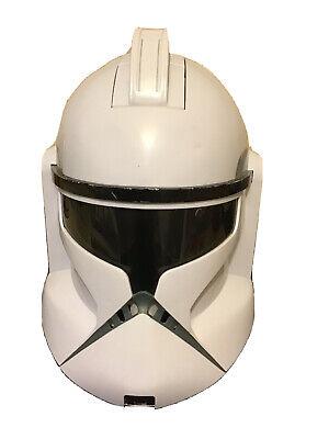 Hasbro Star Wars Clone Trooper Helmet With Sound Voice 2008