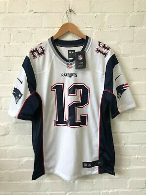 Nike New England Patriots NFL Men's Road Jersey - XL - Brady 12 - New