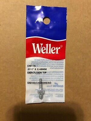 Weller Soldering Tip Solder Ds116 Tiplet .98 2.45mm Ds102 Ds601 Irons