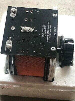 General Radio Company Variac Variable Autotransformer W10h-s1