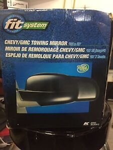 Chev/GMC truck clip on towing mirrors