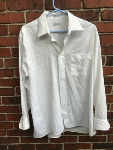 Vintage Christian Dior Made In USA Mens Long Sleeve Button Down 16 1/2 32/33