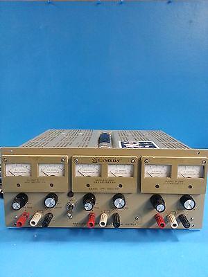 Lambda Lpt-7202fm Triple Output Dc Power Supply
