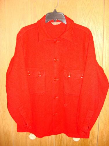 Vintage Boy Scouts Of America Official Jacket Red Wool Coat Men