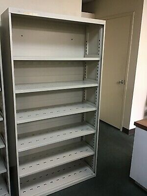 Hon Company Open Shelving- 6-shelf- Steel- Excellent Condition
