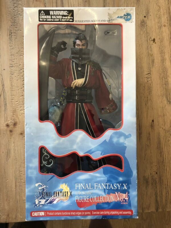 Final Fantasy X 10 1/6 Scale ARTFX Figure No 4 Auron Brand New Rare