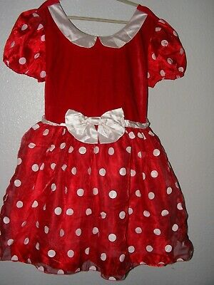 Minnie Mouse Costume Woman (Disney Store Minnie Mouse Costume Dress Women's Size)