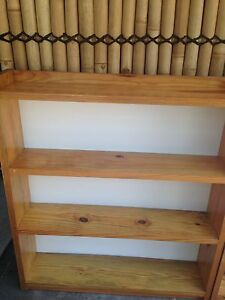 Solid wood bookcase- excellent condition Hamersley Stirling Area Preview