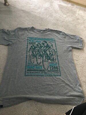 Putney Bridge (Men's Putney Bridge 100k 1986 T-shirt Grey Size XL)