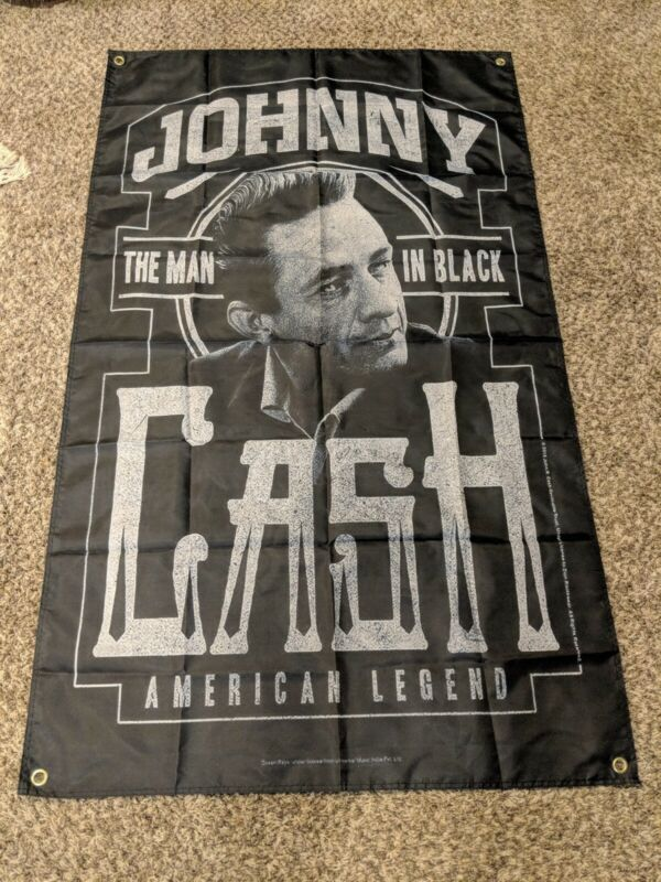 Johnny cash poster flag huge 3