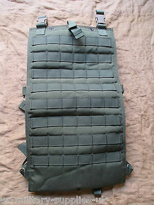 NEW GENUINE US ARMY EAGLE INDUSTRIES DFLCS MOLLE HYDRATION POUCH. OLIVE GREEN.