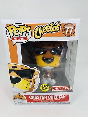 Funko Pop Ad Icons Cheetos Chester Cheetah 77 Glow In The Dark Target Exclusive