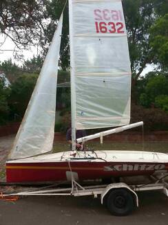 NS14 Sailing Dinghy