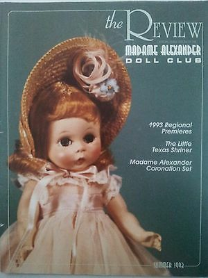 The Review Official Publication Madame Alexander Doll Club Catalog Summer 1993