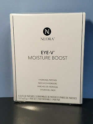 Neora Nerium Eye-V Moisture Boost Hydrogel Patches 5 Sets - New! Exp 6/2022