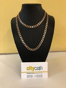 9ct Solid Gold 80cm Chain Adelaide CBD Adelaide City Preview