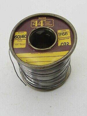 Kester 44 Resin Core .032 Diameter 6040 Solder 66 Core
