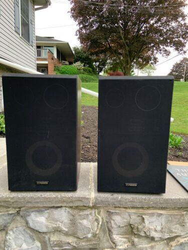 vintage fisher speakers stv-015