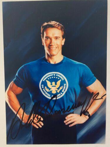 Arnold Schwarzenegger Print - Autographed