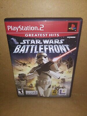 PS2 Game - Star Wars Battlefront - Greatest Hits - Case & Disc - Tested