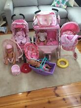 Bulk lot of Baby Born dolls and accessories. St Morris Norwood Area Preview