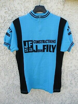 BLUE TEAL ART ABSTRACT RETRO Cycling BIKE Jersey Shirt Tricot Maillot
