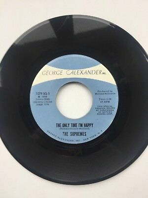 The Supremes - THE ONLY TIME I'M HAPPY - GEORGE ALEXANDER - NORTHERN SOUL