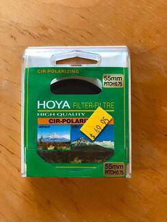 Hoya Cir-Polarizing and UV Filters 55mm Pitch 0.75
