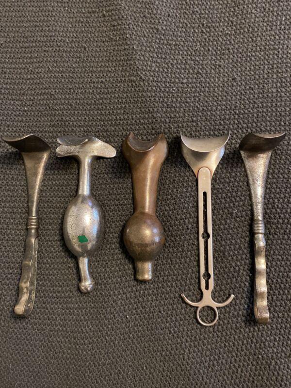 Lot Of Vintage Speculum/Medical Instruments