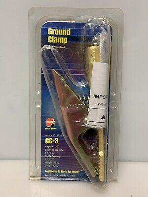Jackson Ground Clamp Welding 300 Amp Gc-3