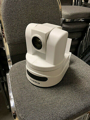 Vaddio Hd-18 Ptz Camera White W Wall Mount And Remote And Ac Adapter