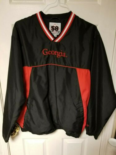 Georgia bulldog pullover 58 sports L/G