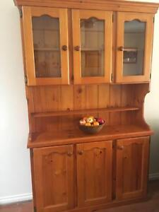 BALTIC PINE KITCHEN DINING ROOM CABINET
