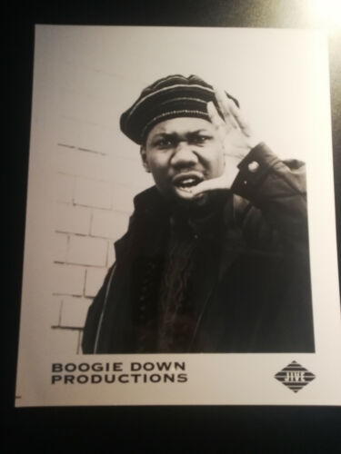 Press photo BOOGIE DOWN PRODUCTIONS - KRS 1 - EDUTAINMENT - Jive Records - 1990